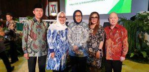 Walikota Kotamobagu Hadiri Rakernas Gerakan Indonesia Bersih