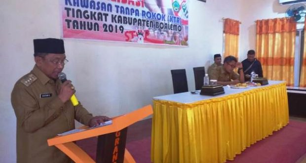Pemkab Pohuwato Sosialisasikan Kawasan Tanpa Rokok