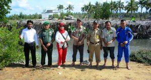 Berkunjung ke Lokasi Mangrove, Istri Menkopolhukam Disambut Pemkab Pohuwato
