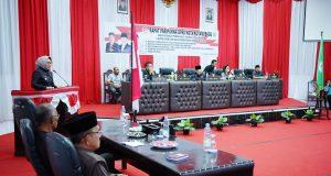 DPRD Kotamobagu Sahkan RPJMD 2018-2023, Walikota: Ini Hasil Kerja Pegawai Pemkot