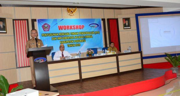 Pemkab Pohuwato Gelar Workshop RTP