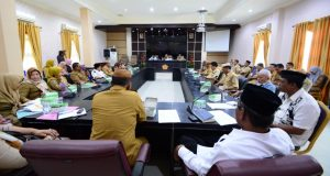 Persiapan Nisfu Syaban, Pemkab Pohuwato Gelar Rapat Sambut Ramadan