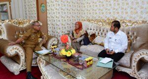 Terima Kunjungan Pejabat BPN Pohuwato, Wabub Amin Bahas Program Sertifikat Tanah Gratis