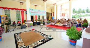 Sambut Hut Pohuwato Ke 16, Sekda Djoni Nento Buka Lomba Cerita SD/MI Tingkat Kabupaten