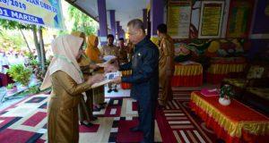 Wabub Amin Buka Pelaksanaan USBN Tingkat SD Se-Kabupaten Pohuwato