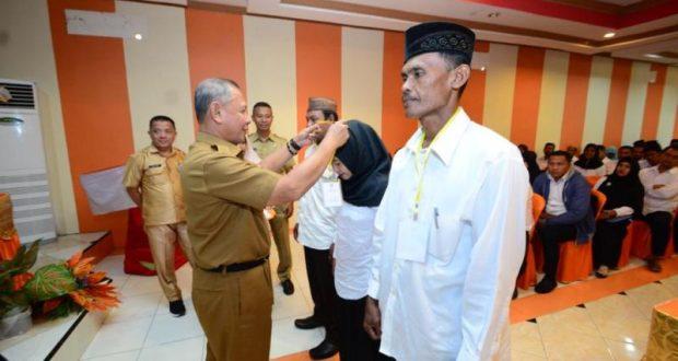Wabup Amin Haras Buka Pelatihan BPD Se-Kabupaten Pohuwato