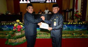 DPRD Pohuwato Terima LKPJ Kepala Daerah Tahun 2018
