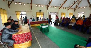 Terkait Pengawasan, Wabub Pohuwato Sebut Camat Wakili Kewenangan Bupati