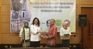 Pemkab Pohuwato Teken MoU Dengan Ditjen Kementrian LHK di Jakarta