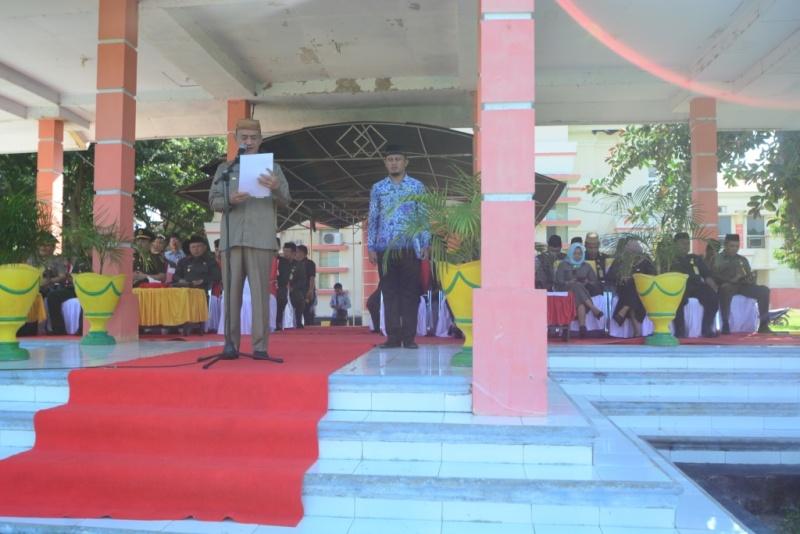 Bupati Syarif Mbuinga Pimpin Upacara Hari Peringatan Kebangkitan Nasional Ke-111 Tahun 2019