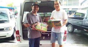 Gandeng Baznas Kotamobagu, Management Abdi Karya dan Dragon Swalayan Salurkan Paket Ramadhan