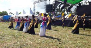 Tim Tamborin dan Banner GBI Kasih Karunia Tampil Memukau di Jambore Nasional DPA GBI