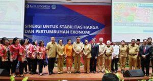 Wali Kota Tatong Bara Hadiri Kegiatan Rakor TPID di Manado