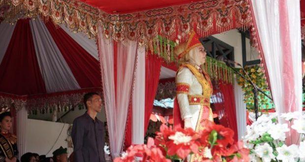 Walikota Tatong Bara Irup HUT ke-12 Kotamobagu