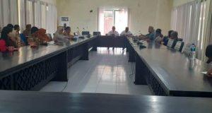 Terkait Pelayanan Pada Pasien, DPRD Pohuwato Hearing RSUD BP dan Dinas Kesahatan