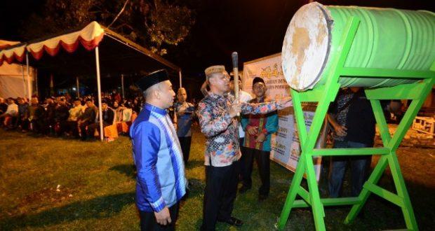 Wabub Amin Haras Buka MTQ di Kecamatan Dengilo