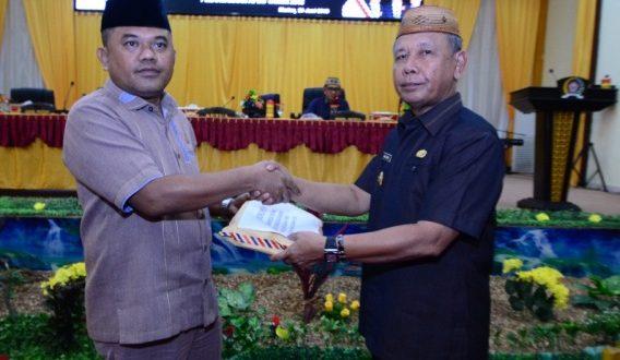 Terkait Ranperda APBD TA 2018, Pemkab Pohuwato Fokus Pada Keuangan Daerah