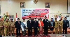 Walikota Kotamobagu Hadiri Pelantikan Kepala Perwakilan BPKP Sulut
