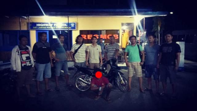 Tim Resmob Kotamobagu Berhasil Tangkap Pelaku Curanmor
