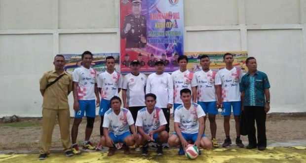 DPRD Pohuwato Suport Turnamen Volly Ball di Perayaan HUT ke-59 Adhyaksa