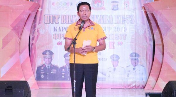 Kapolda Sulut Buka Open Turnamen Bridge Hari Bhayangkara ke-73