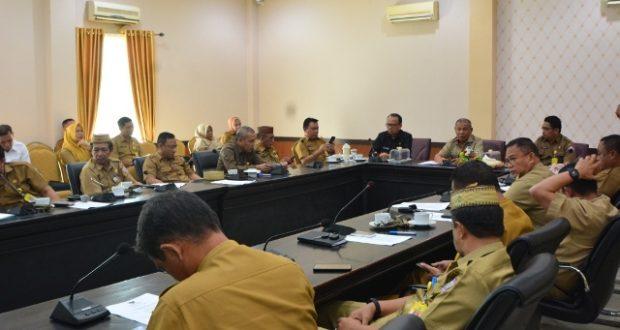 Pemkab Pohuwato Gelar Rapat Persiapan HUT ke-74 Proklamasi Kemerdekaan RI