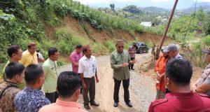 Bupati Pohuwato Tinjau Pekerjaan Infrastruktur di Kecamatan Taluditi