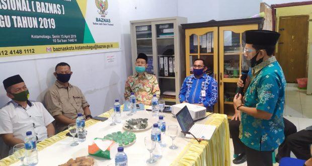 Ketua Baznas Kotamobagu, Jainudin SP (Foto: Ainur Rofik/Fakta BMR)