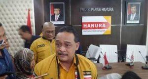 Ketua DPP Bidang Organisasi Hanura, Benny Rhamdani