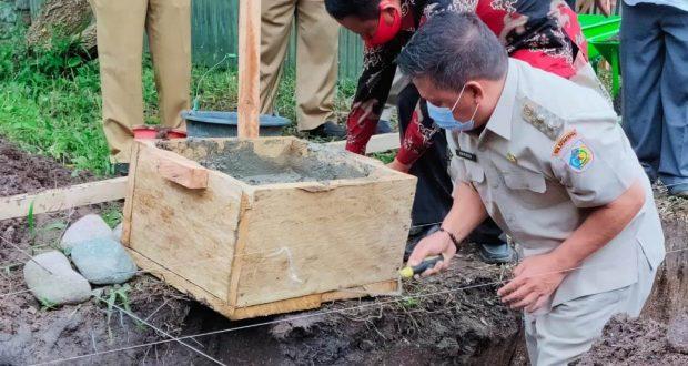 Wawali Nayodo Kurniawan Peletakkan Batu Pertama