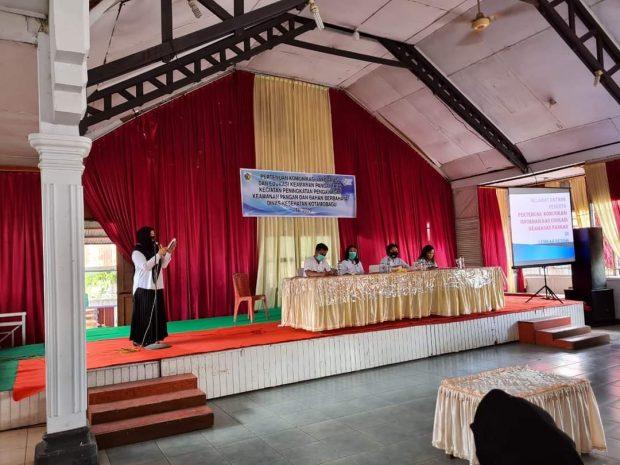 Kegiatan Komunikasi, Informasi dan Edukasi (KIE) Keamanan Pangan yang bertempat di restauran lembah bening kelurahan Sinindian, kecamatan Kotamobagu Timur (Foto: Dinkes Kotamobagu)