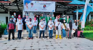 World Cleanup Day (WCD), di Lapangan Boki Hotinimbang, Sabtu 19 September 2020 (Foto; Ainur Rofik)
